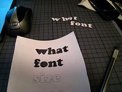 whatfontsize