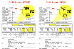 credit score affect job search